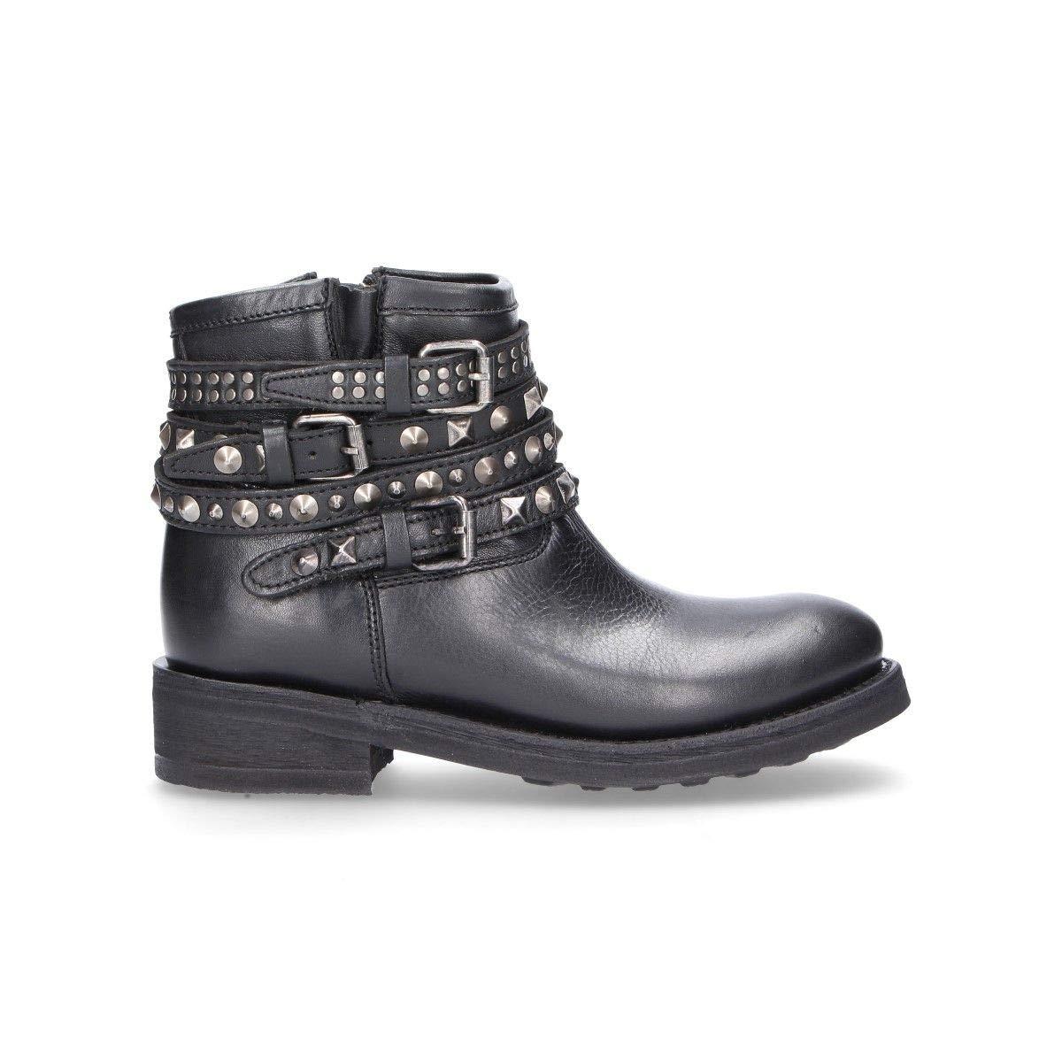 ASH Damen Damen Damen S18TATUMschwarz Schwarz Leder Stiefeletten 955a25