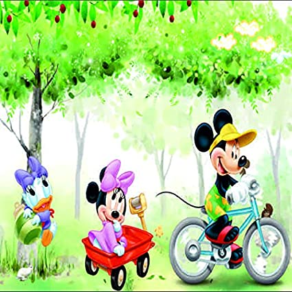 Buy Micky Mouse Ans Donald Duck Cartoons 3d Wallpaper Available In