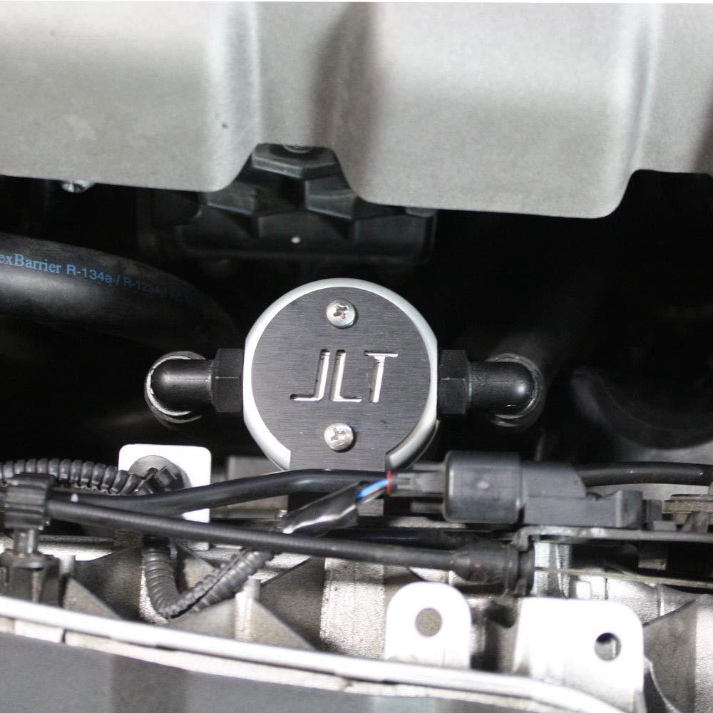 JLT Oil Separator 3.0 Front, Black Anodized (2013-18 Focus ST) JLT Performance