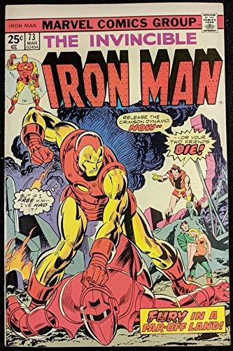 Iron Man (1968) #73 VF+ (8.5) vs Crimson Dynamo & Radioactive Man -