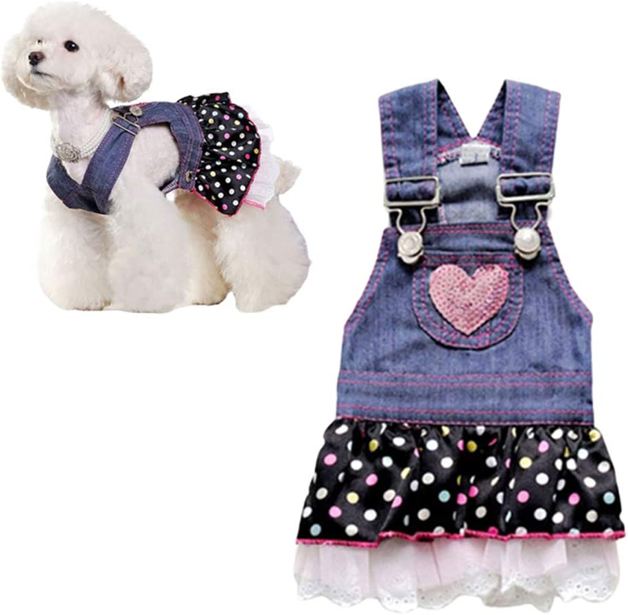 PLUS PO Dog Dresses Puppy Dress Summer Dog Clothes Dog Dress For Large Dogs Wedding Dresses For Dog Dog Dress For Summer Cute Dog Dresses Dogs Clothes s