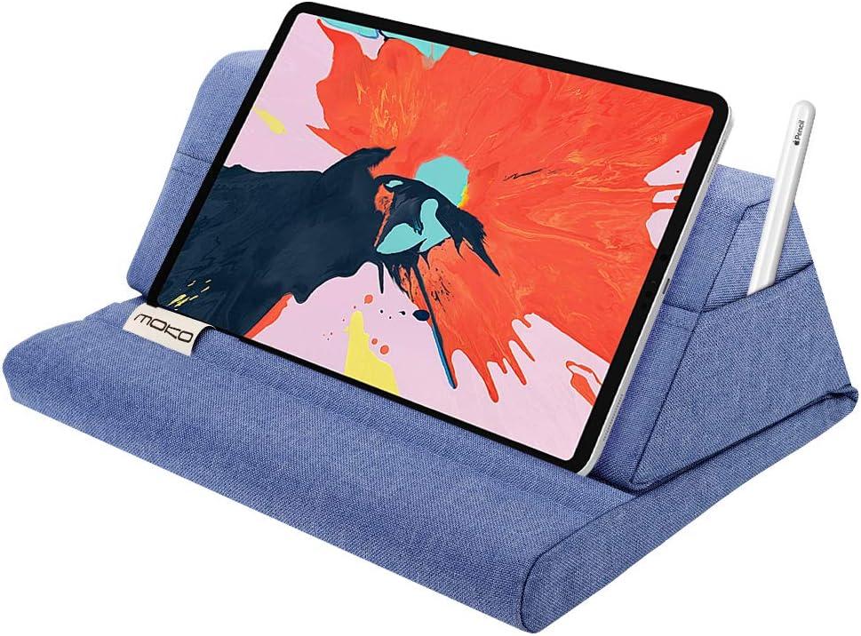 Soporte Tipo Almohada Para Tablets Hasta 11 Pulgadas, azul