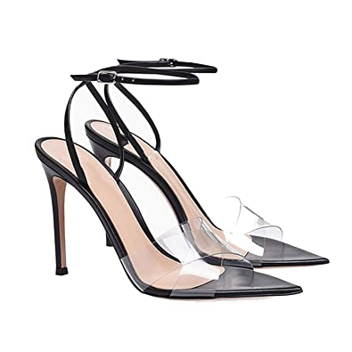 2ef52694cdae4c Pumps High Heels Luxury Shoes Women Designer Sandals Transparent Stiletto