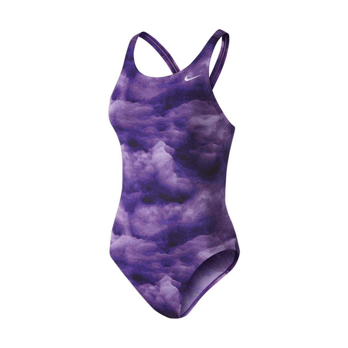 57aee27483ea Amazon.com  Nike Women s Cloud Fast Back Tank Swimsuit  Clothing