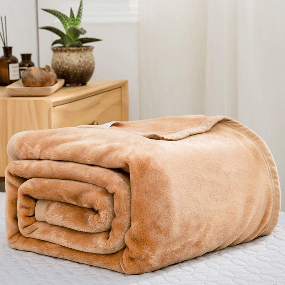 毛布 暖かい 柔軟軽量発熱 吸湿/静電気防止/洗える フランネル ブランケット 発熱効果 衿付き 厚手毛布 ふわふわ 柔らか 静電防止毛布 掛け布団 (Color : 7, Size : 200*230cm) B07R58D9DT