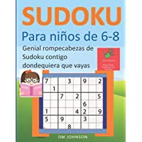 Sudoku para niños de 6 - 8 - Genial rompecabezas de Sudoku contigo dondequiera que vayas