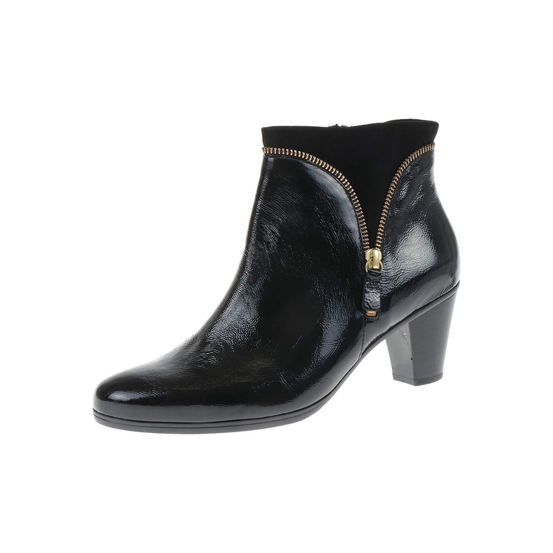 - Gabor Gabor Damenschuhe Stiefel Stiefelette Lack schwarz Schwarz 9561497  das billigste