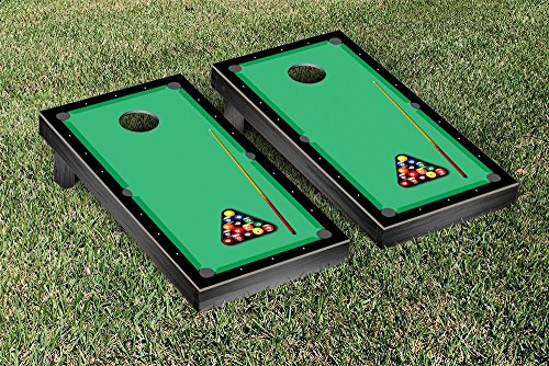 Victory Tailgate Billiards Table Pool Themed Cornhole Game Set by Victory Tailgate