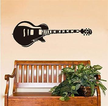 Zlxzlx Vintage Guitarra Eléctrica Música De Vinilo Pegatinas De Pared Kids Room Boy Nursery Dormitorio Calcomanías De Arte Extraíble Autoadhesivo Wallpaper ...