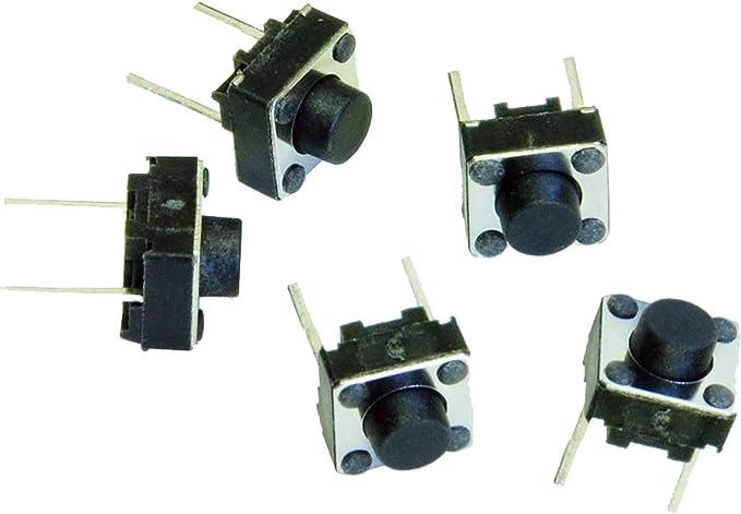 5 x interruptores momentánea Normalmente abierto táctil perfecto para Arduino // placas universales de placa de circuito impreso