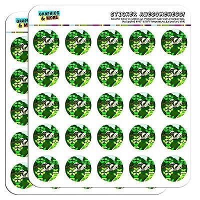 Geometric Sloth 1&Quot; Planner Calendar Scrapbooking Crafting Stickers - Sloth Art