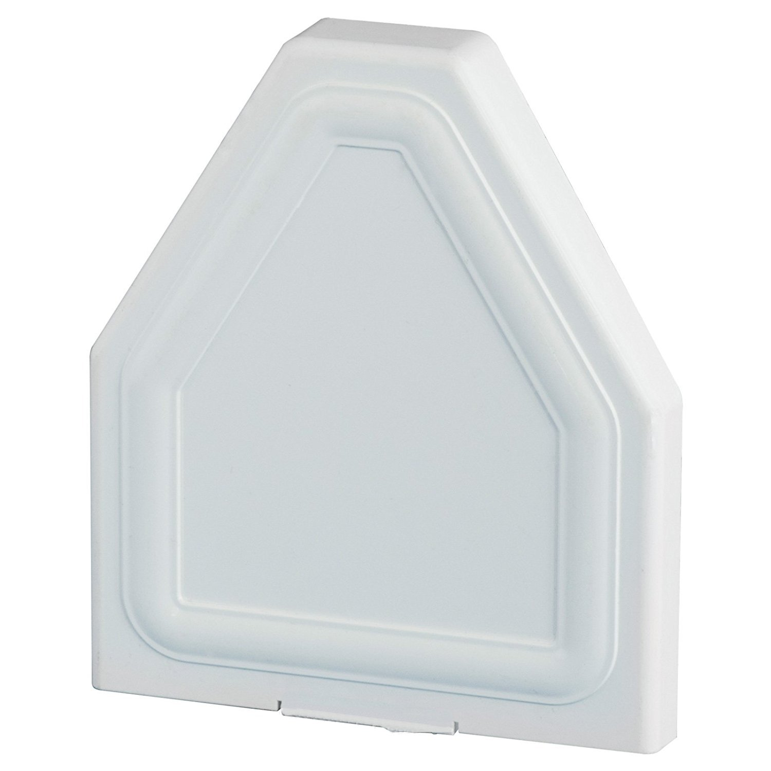 White Eurocell CRS-8201 Glazing Bar End Cap Conservatory Roof Spar Rafter End Trim