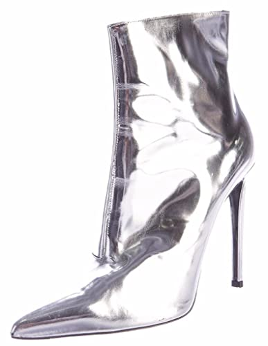 c32ce5f20ac Amazon.com | Amy Q Women's Silver Thigh High Boots Superstar Shoes ...