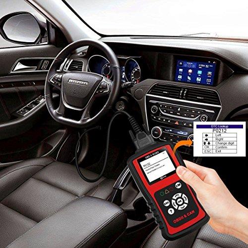 80%OFF Kzyee KC201 OBD2 Scanner, Universal EOBD/OBD II Car Code