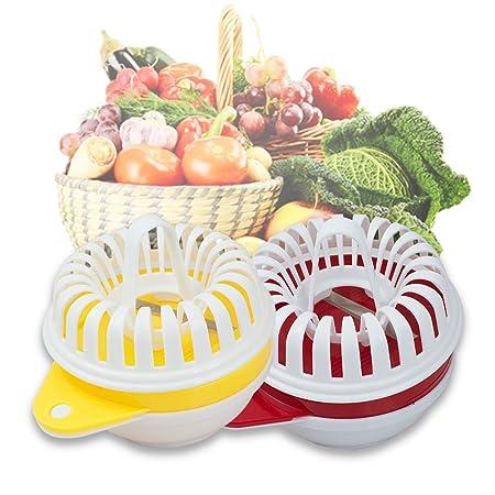 purewill microondas Home DIY fuente para horno Baked Potato Chips ...