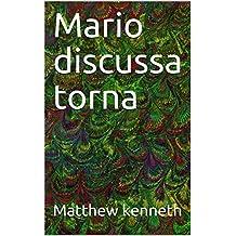 Mario discussa torna (Corsican Edition)