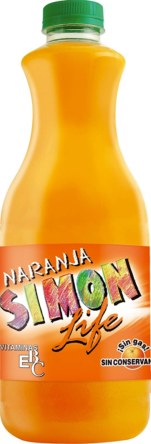 Simon Life Refresco con Sabor a Naranja - 1500 ml: Amazon.es: Amazon Pantry