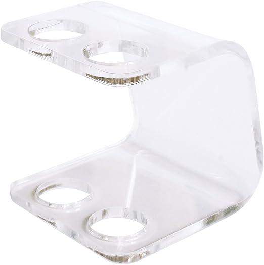 Seemii Soporte Oral-B cabezales 2 Soporta 2 /ó 4 cabezales Soporte para cabezales de cepillo de dientes electr/ónico Transparente