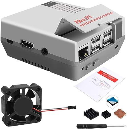 Geeekpi Retro Gaming Nes3pi Gehäuse Für Raspberry Pi 3 Computer Zubehör