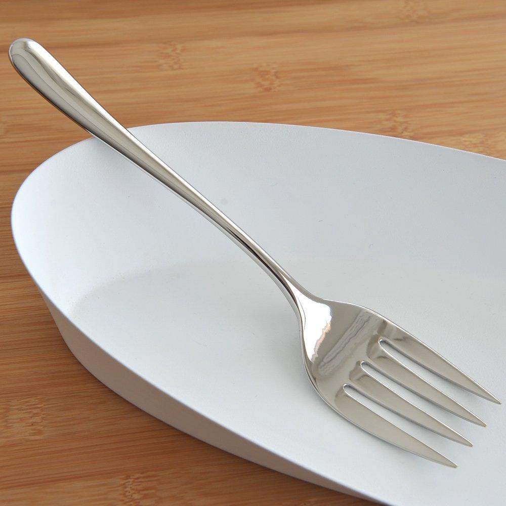 Alessi Caccia Dessert Fork, Set of 6 (LCD01/5) Caccia Dominioni Luigi Cutlery