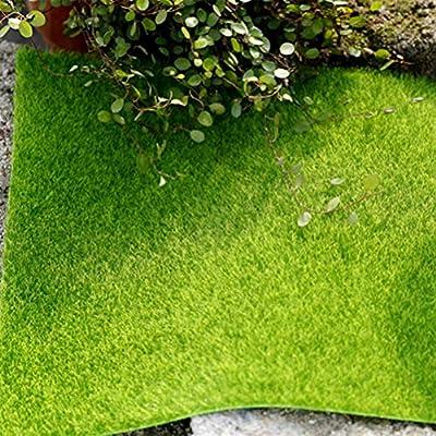 VOSAREA Césped Artificial en Miniatura Decoración para DIY Casa de Hadas Jardín Miniatura Casa de Muñecas Navidad 49 x 47 cm (Verde): Amazon.es: Hogar
