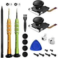 Switch Joycon Replacement Joystick Analog Thumb Stick JoyCon Repair Kit for switch joycon 3D Repair Tool Left and Right Handle Joystick Special Repair Tool Screwdriver Set