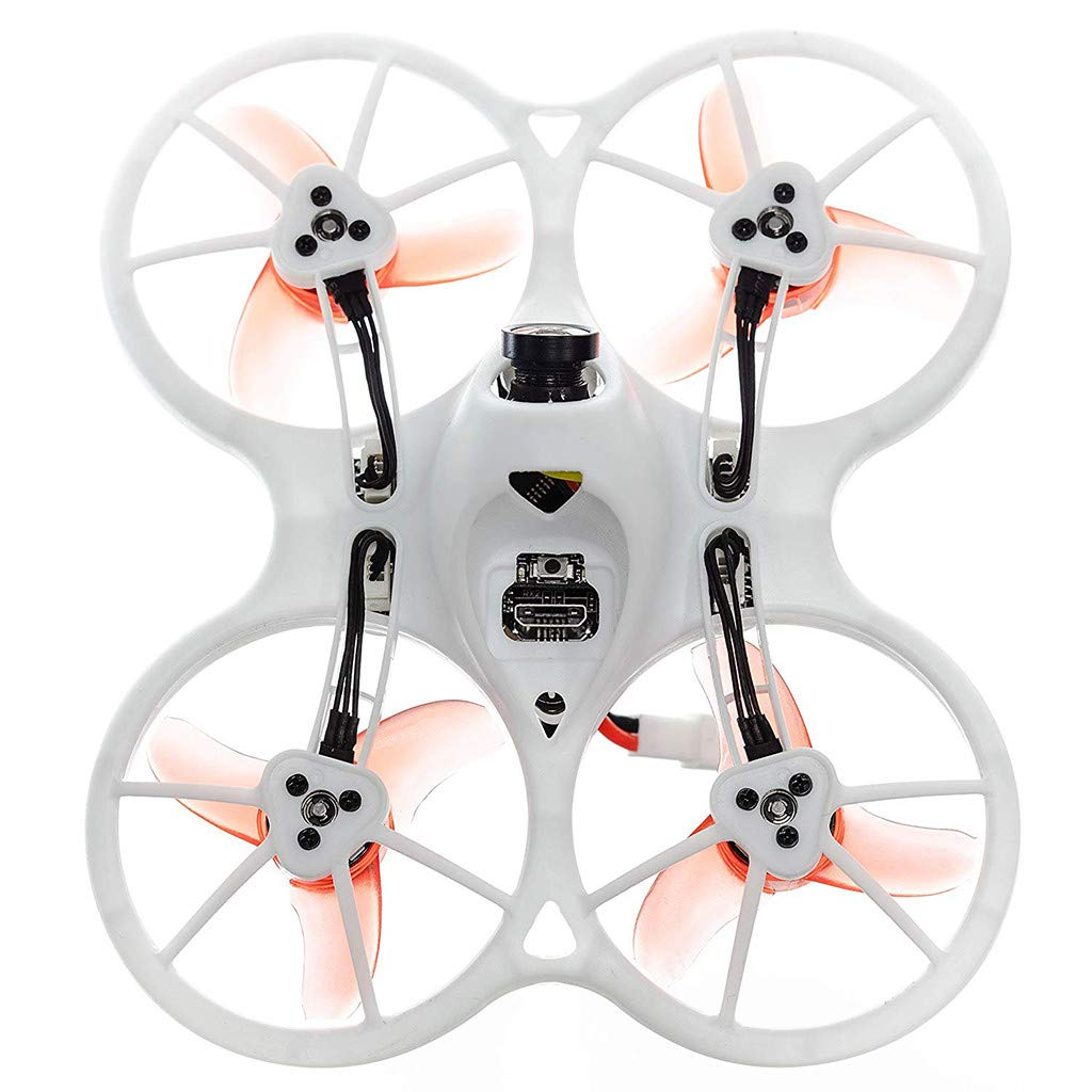 LuminitA EMAX Tiny Receiver Brushless Micro Indoor Racing Drone Whoop 75mm Ready to Fly FPV Beginners Durable Inverted Motors Full Acro Level Horizon Mode by LuminitA (Image #4)