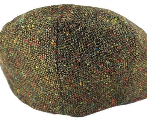 09c1cc5c93d88 John Hanly Irish Tweed Caps Green Fleck Made in Ireland - Import It All