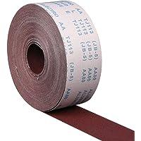 LOKIH Rol Schuurpapier Roodbruin Korund Schuurmiddel 80-600 Korrel Houtbewerking Trommel Schuurmachine Rol, Stroken Op…