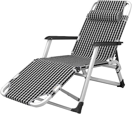 Tumbonas Extra Anchas reclinables | Silla de jardín reclinable Plegable | Tumbona Plegables para niños Adultos | Silla de relajación de la Comodidad del Patio de la Piscina: Amazon.es: Hogar