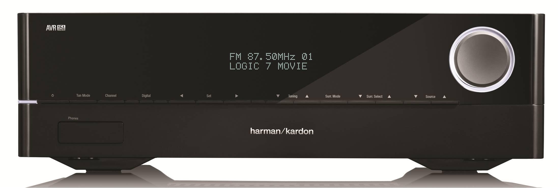 Harman Kardon AVR 1510 5.1-Channel 75-Watt Networked Audio/Video Receiver by Harman Kardon