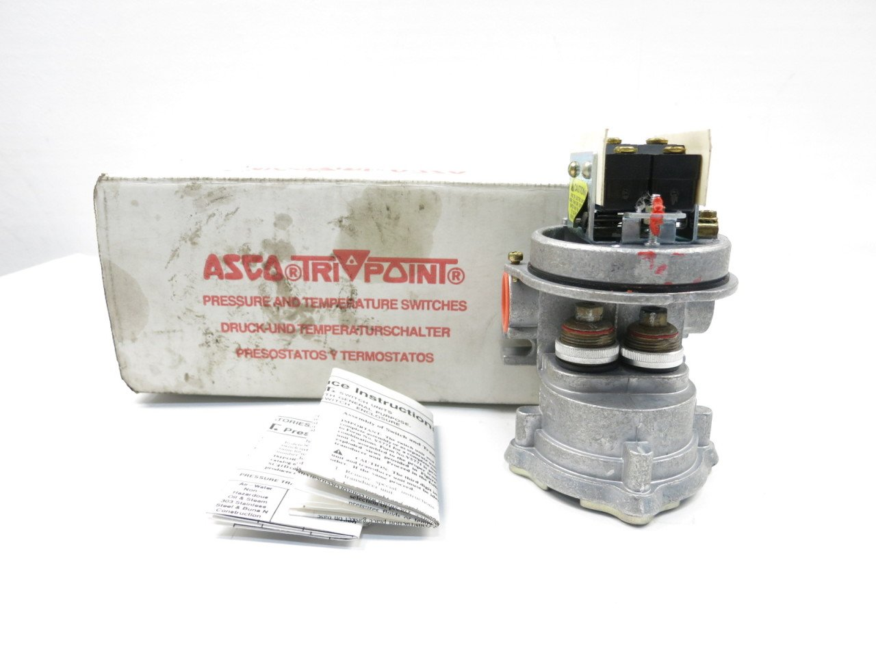 Amazon.com: ASCO TYPE SA TRI-POINT ADJUSTABLE DEADBAND D.P.D.T. PRESSURE SWITCH D600228: Industrial & Scientific