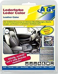 ATG - Fundas para asiento de coche, efecto piel