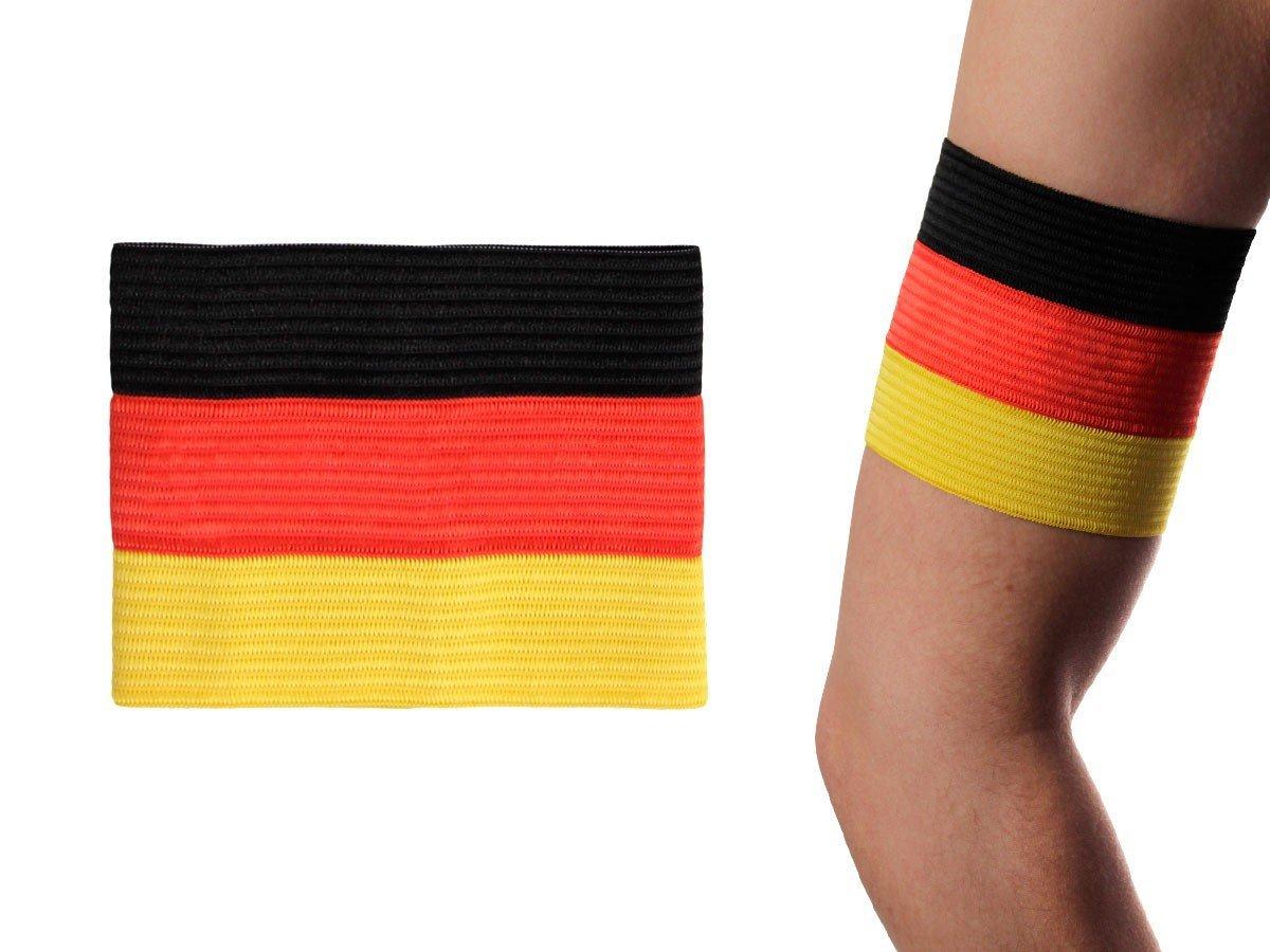 Alsino Deutschland Kapitänsbinde Spielführer Armbinde EM Binde Flagge Spielführerbinde