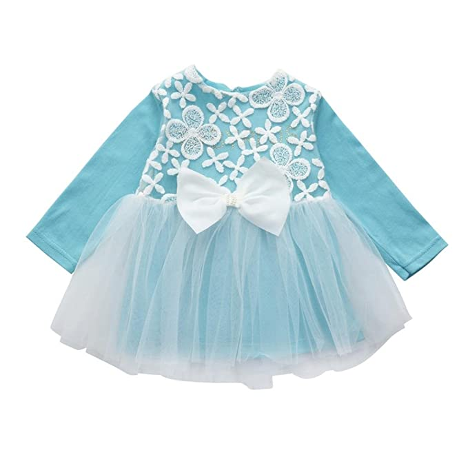 388dfc785 Amazon.com  CMrtew Baby Girls Lovely Cute Floral Lace Birthday Tutu ...