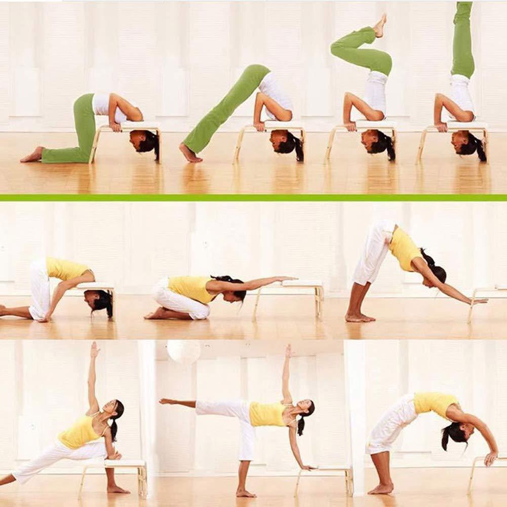PsSpCo Silla de Yoga de pie para Familia, Taburete ...