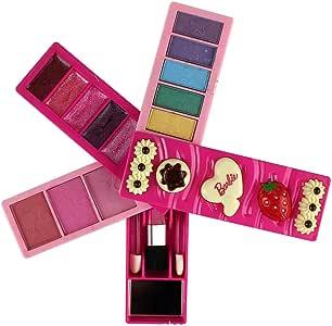 ALOOVOO Niños Maquillaje-Estuche de Maquillaje-Childrens Beauty cosméticos Set-Juguetes para niñas, Juguetes Infantiles, Regalo de cumpleaños: Amazon.es: Hogar