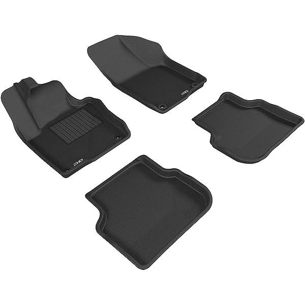 Coverking Custom Fit Front Floor Mats for Select Escort Models Nylon Carpet Black