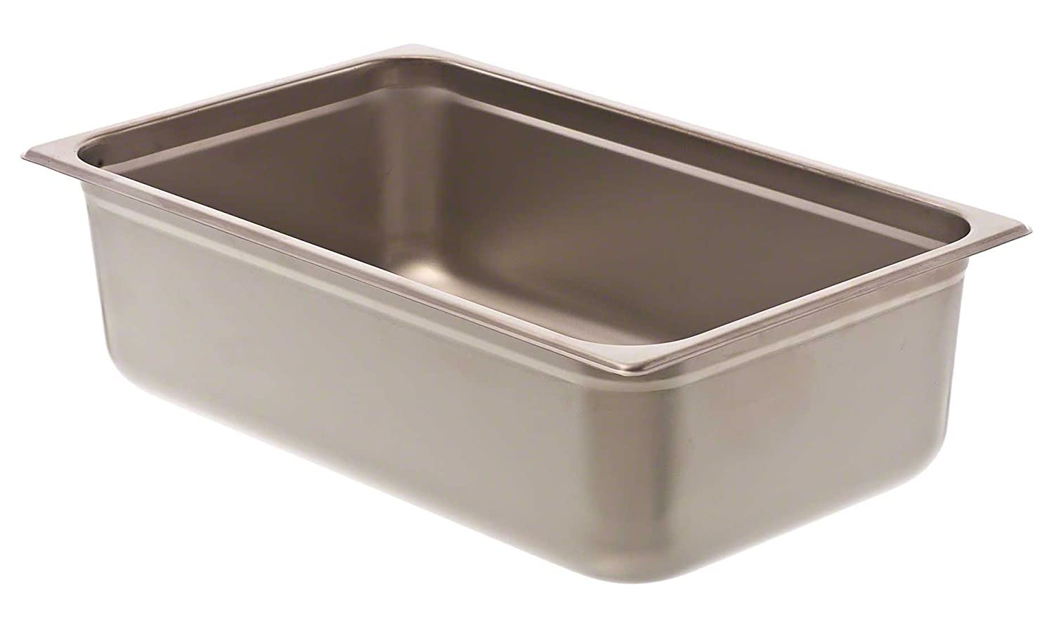 Browne Foodservice (88006) 6-Inch Full-Size Steam Table Pan, Silver Browne-Halco