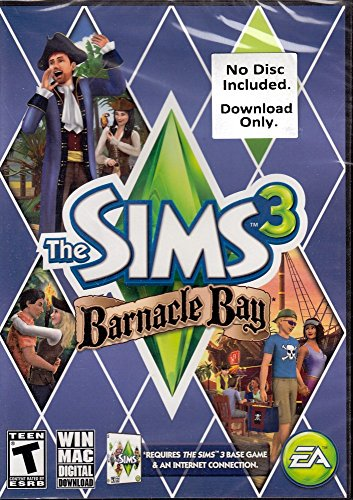 The Sims 3: Barnacle Bay [Download Code only, No disc included] - - The Bay Online Shop
