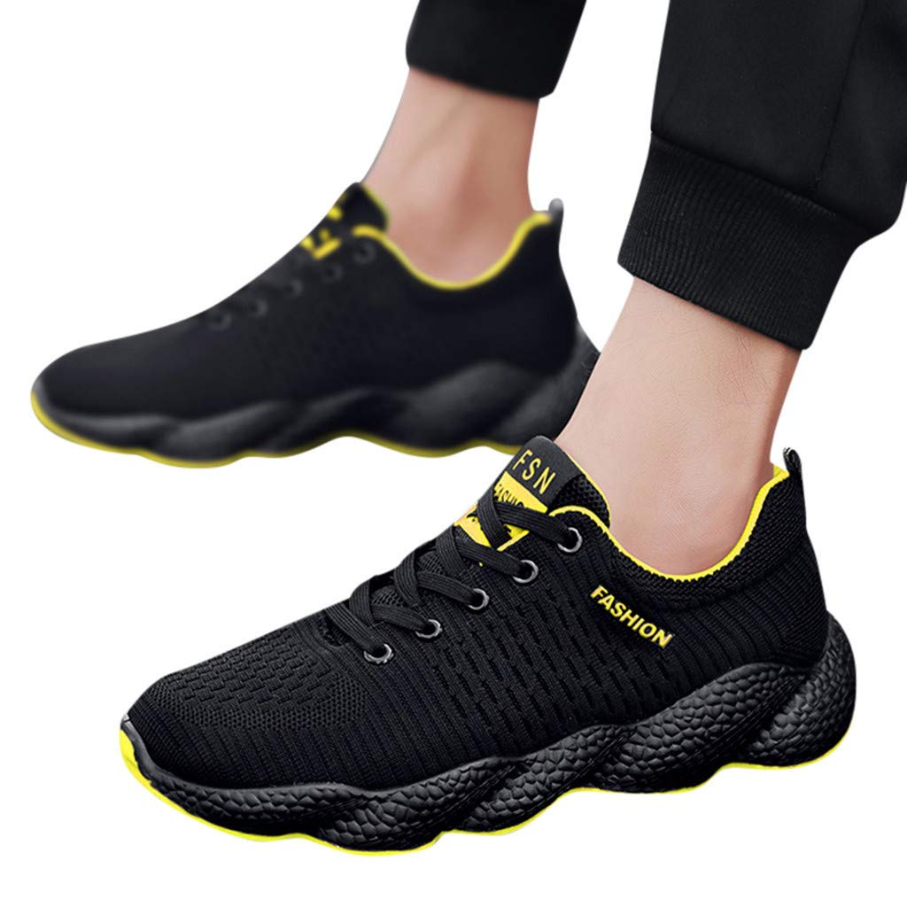 2019 Men Casual Shoes Wild Fashionable Sneakers Shoes Mesh Breathable Movement Shoes Cheap Running Shoes Men Wide Width