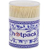 Hotpack Wooden Tooth Pick, 400 Pieces