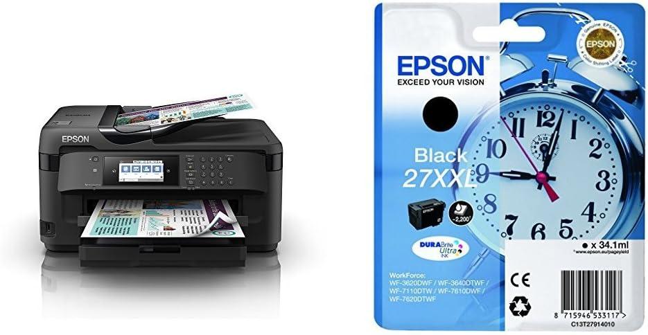 Epson WorkForce WF-7210DTW, Impresora Multifunción, USB, WIFI, A3 ...