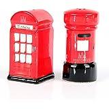 Céramique à Londres Salt & Pepper Box Set, des Postes et Téléphone