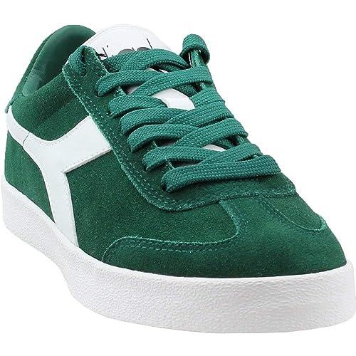 95fa5e85b8 Amazon.com | Diadora Mens B.Original Vlz Athletic & Sneakers Green ...