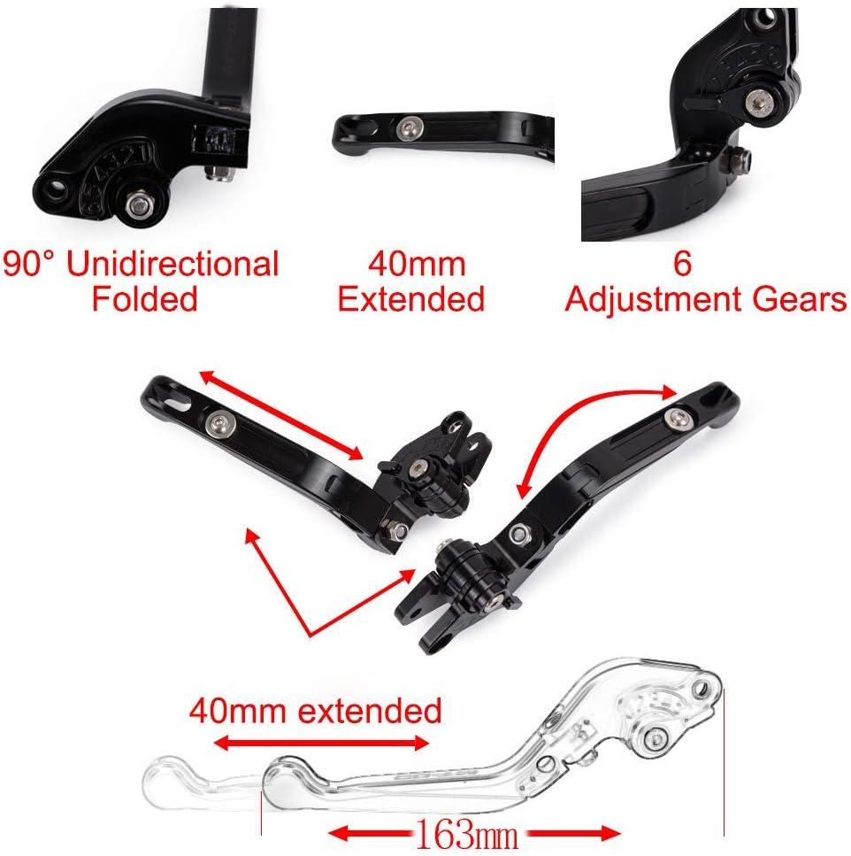 Brake Clutch Levers Foldable Extendable CNC For Yamaha FJ-09 MT-09 TRACER FZ-09 FZ-10 FZ1 FZ6 FAZER FZ6R FZ8 MT07 FZ07 XJ6N XJ6 DIVERSION XSR700 XSR900 XV 950 RACER