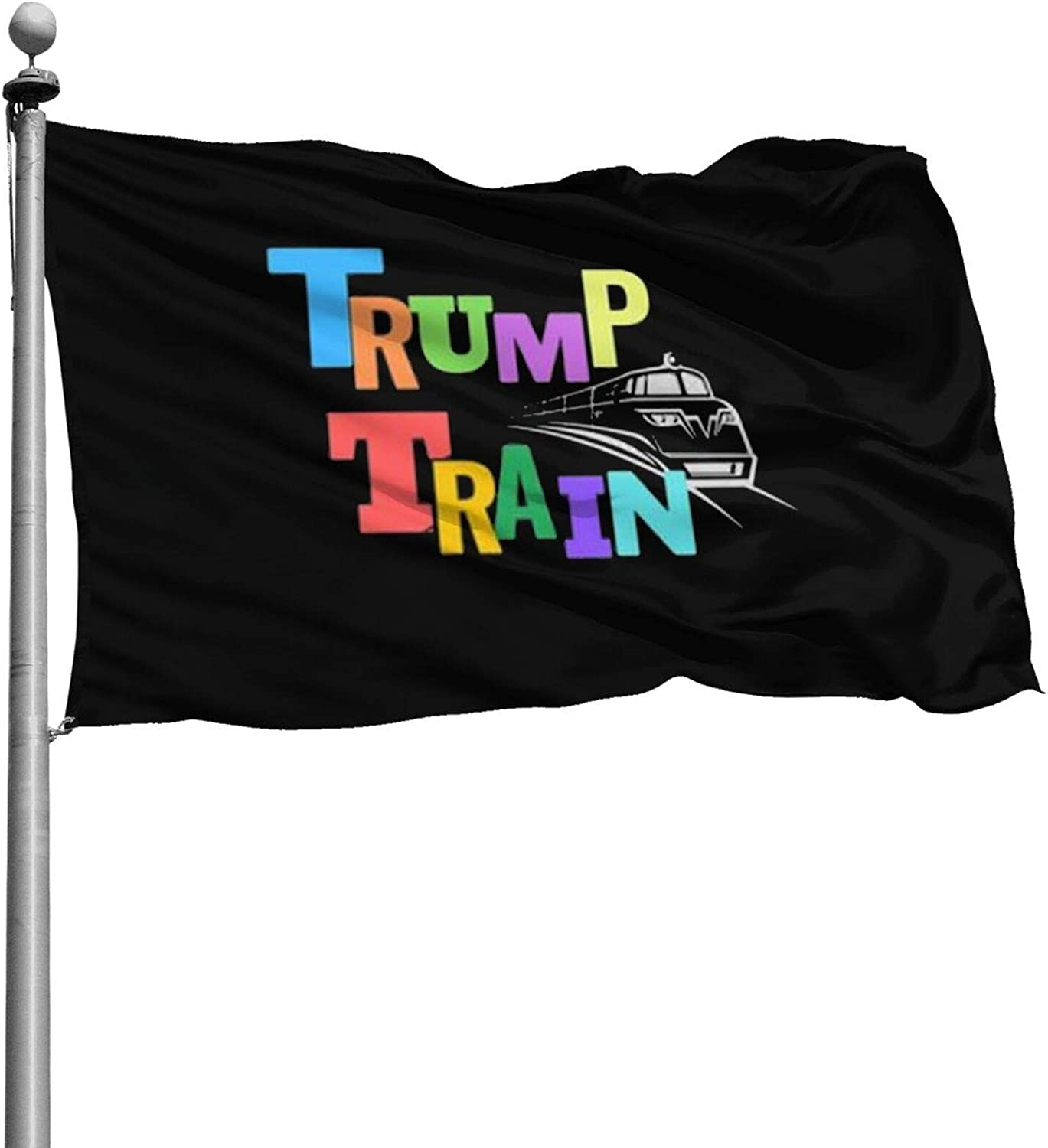 Opplsh Hdrejn Trump Train Durable Polyester Home House Garden Flag Decorone Size