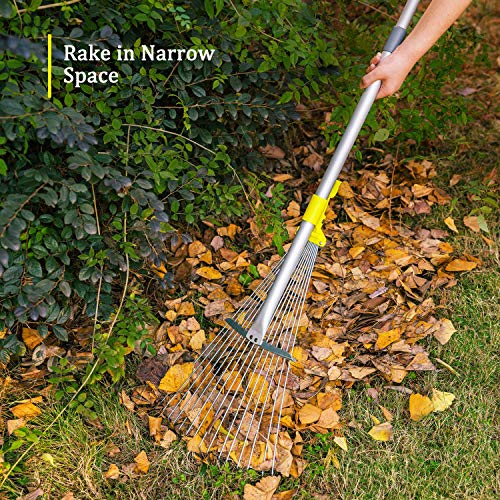 Jardineer Adjustable Garden Rake