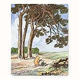 Best Cloud Nine Prints Toddler Girl Books - Winnie the Pooh Nursery Art Review
