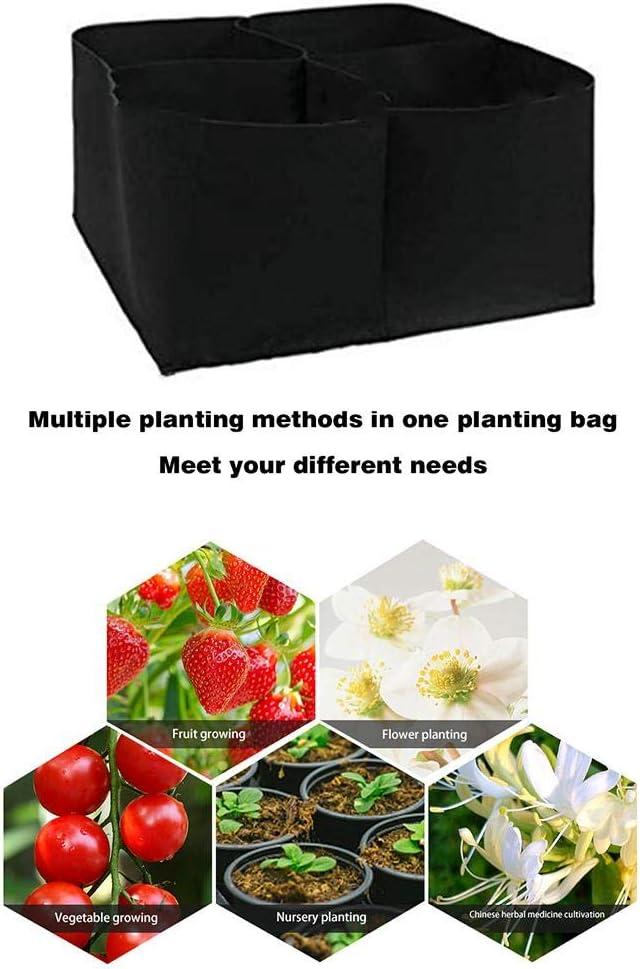lit de jardin sur/élev/é sacs de culture de plantes rectangulaires Sacs de plantation sacs de plantation de l/égumes non tiss/és /épais pour la plantation de plantes /à base de plantes de tomates fraises